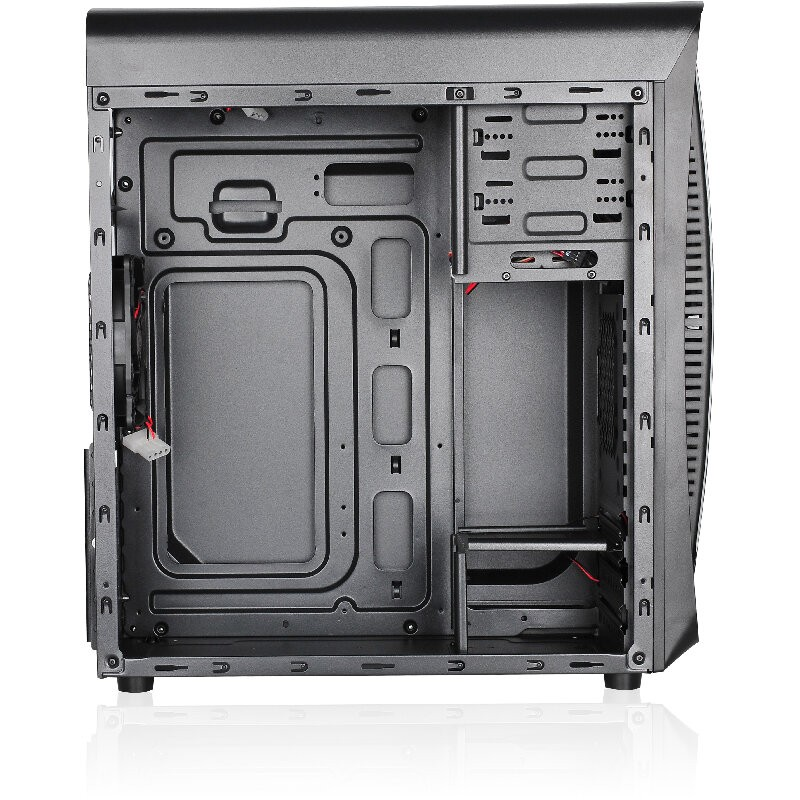 Caja PC ATX L-Link Kazumi LED Rojo con Ventana