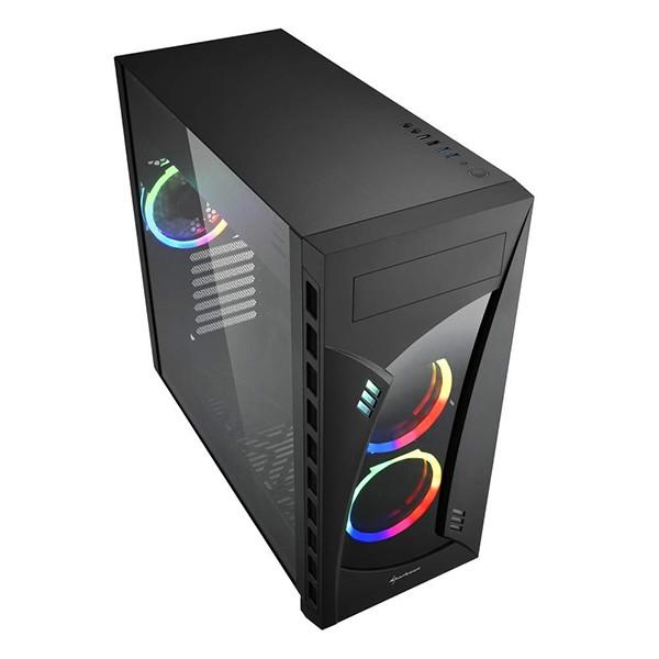 Caja PC E-ATX Sharkoon Night Shark LED RGB
