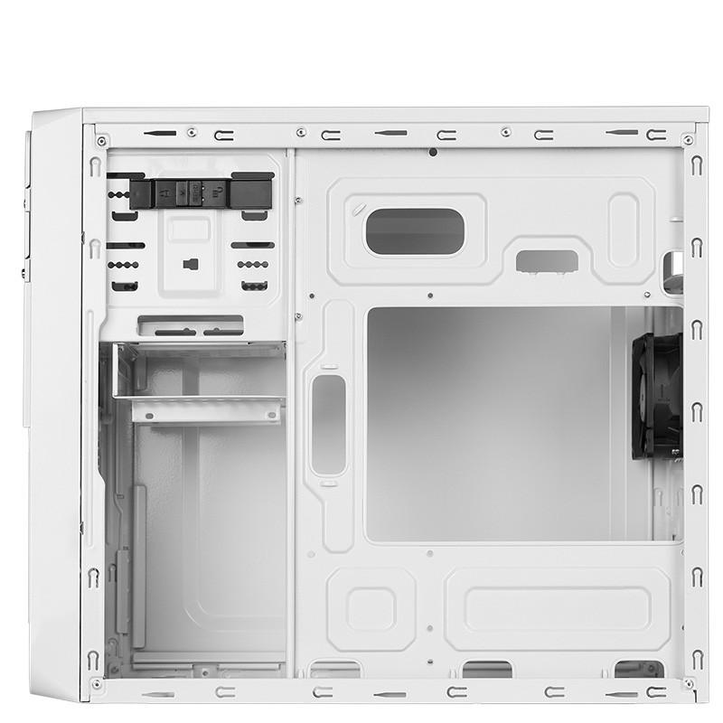 Caja PC Micro ATX Hiditec Q3 White Edition Sin Fuente