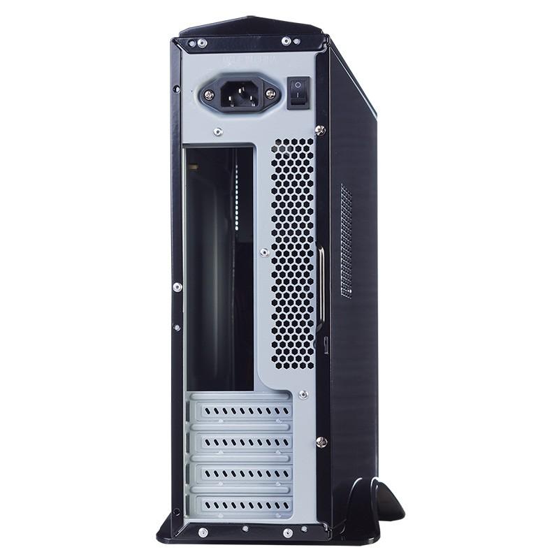 Caja PC Micro ATX Hiditec Slim10 450W USB3.0 Negra