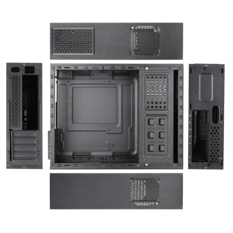 Caja PC mATX TooQ TQC-3005U3 + Fuente de 500W