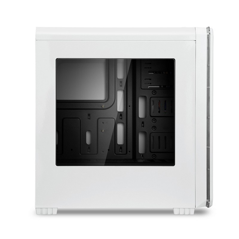 Caja PC ATX NOX Hummer MC Zero Edition Blanca LED