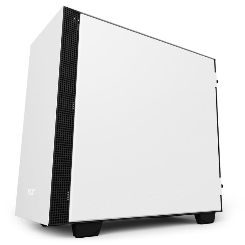 Caja PC Micro ATX NZXT H400i Smart Blanca