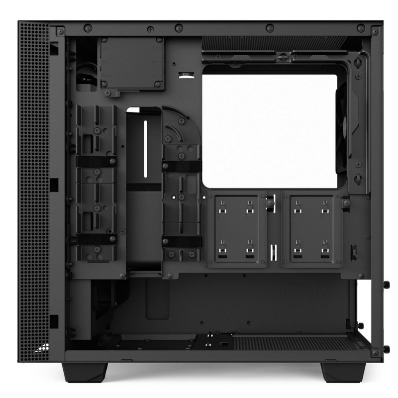 Caja PC Micro ATX NZXT H400i Smart Negro Mate