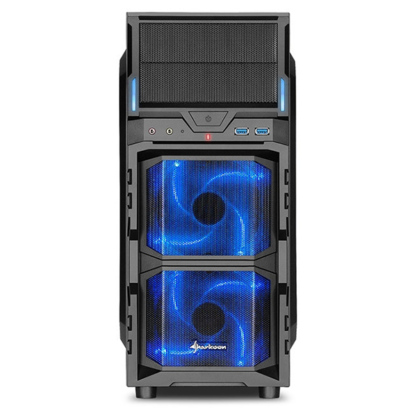 Caja PC ATX Sharkoon VG5-W Led Azul