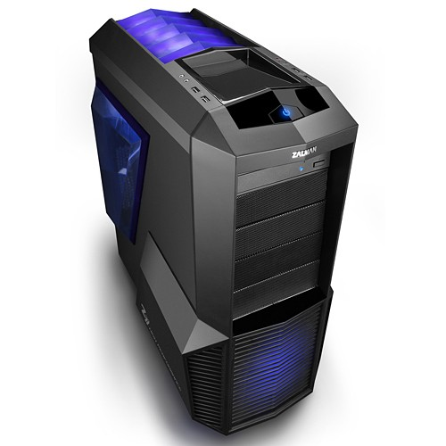 Caja PC ATX Zalman Z11 Plus LED Azul