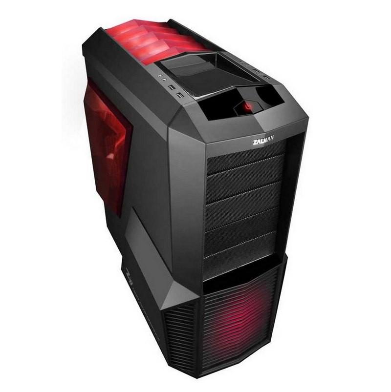 Caja PC ATX Zalman Z11 Plus LED Rojo
