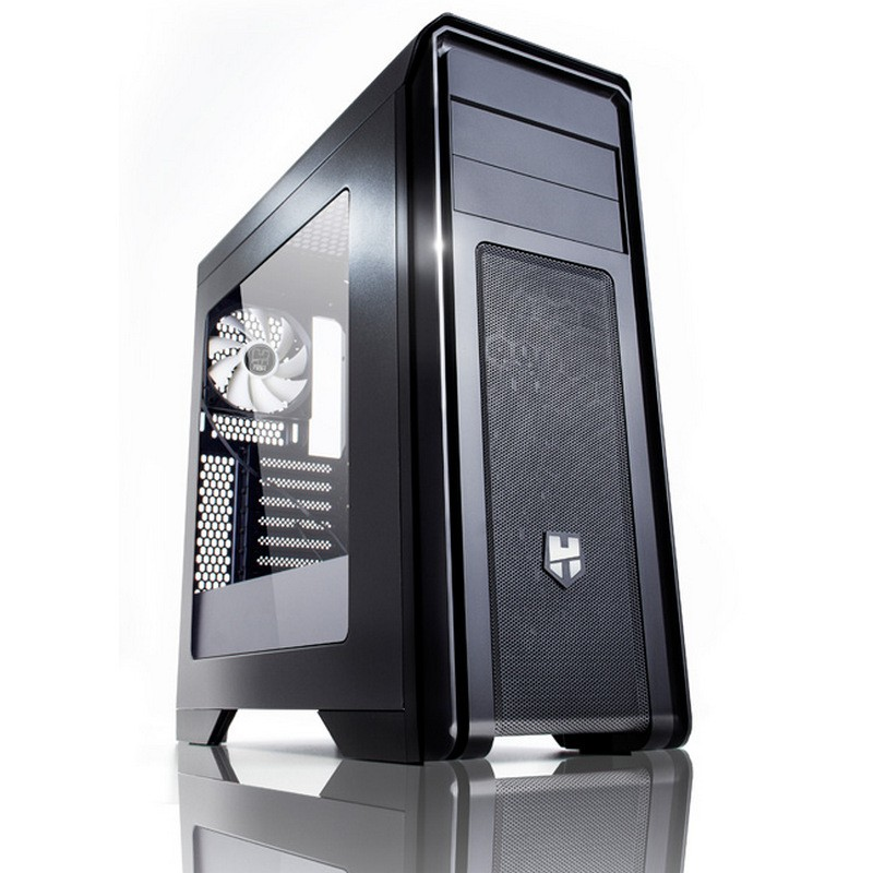 Caja PC ATX NOX Hummer ZX Negra Ventana