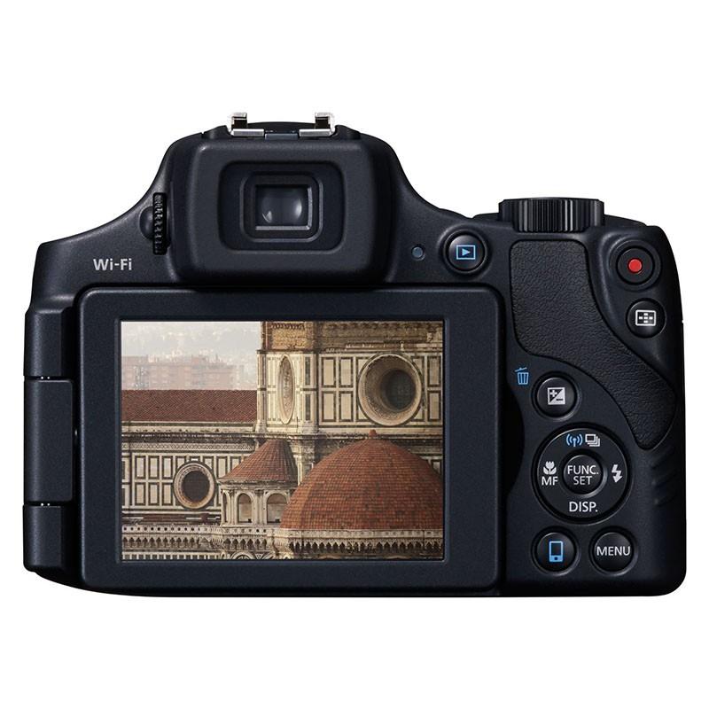 Cámara Digital Canon PowerShot SX60 HS 16.1Mpx ZO 65X Negra