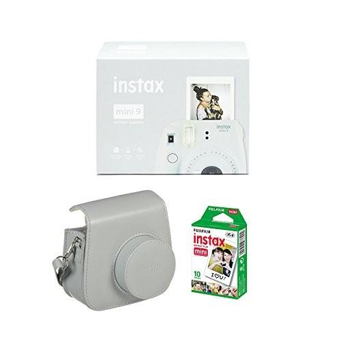 Cámara Fujifilm Instax Mini 9 Blanca + Funda + Carga