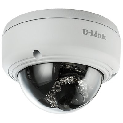 Cámara Domo IP FHD PoE D-Link DCS-4602EV