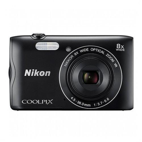Cámara Digital Nikon Coolpix A300 Negro