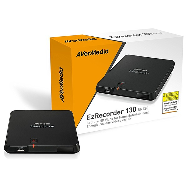 Capturadora de vídeo HD (HDMI, MP4) AVerMedia EzRecorder 130