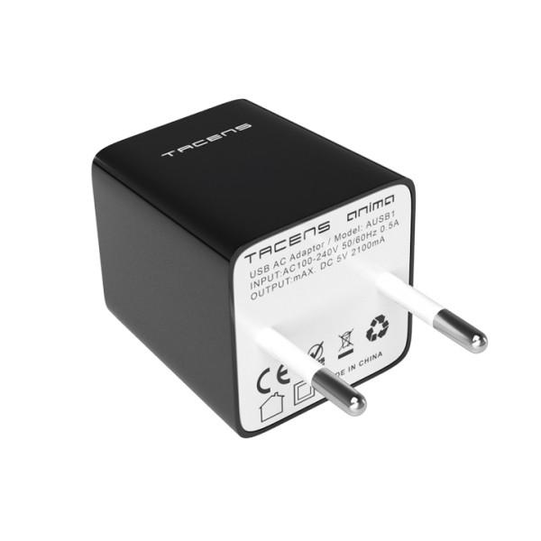 Cargador USB Doble 5V 2.5A Tacens Anima AUSB1