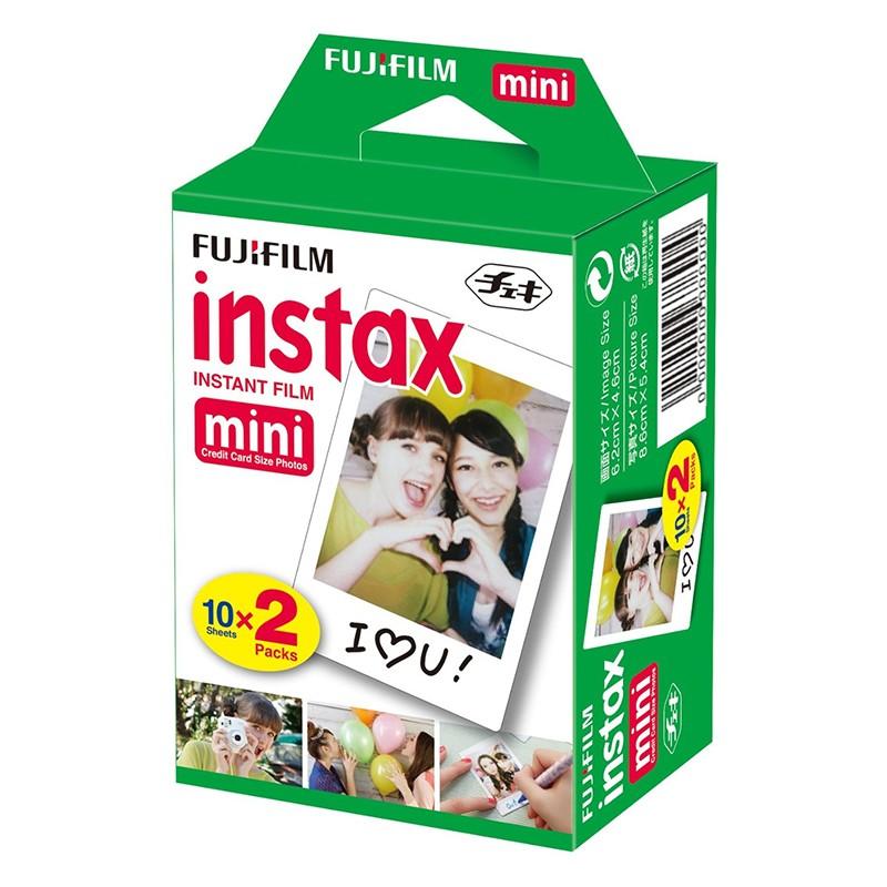 Pack 2 Cartuchos 10 Fotografías Fujifilm Instax Mini
