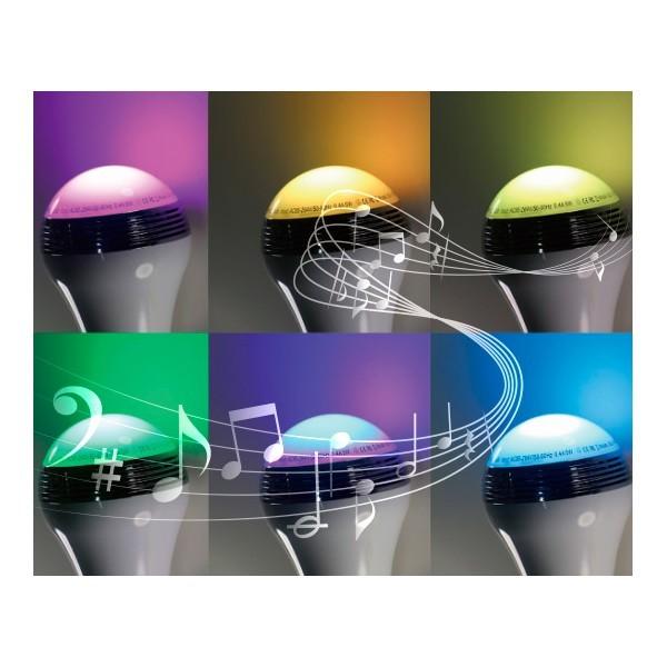 Bombilla LED con Altavoz Bluetooth Conceptronic CSPKBTSLB