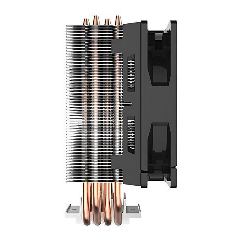 Ventilador CPU Cooler Master Hyper 212 LED Rojo