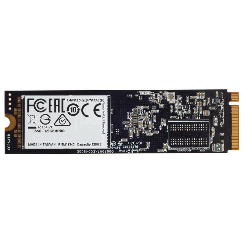 SSD M.2 PCIe NVMe 480GB Corsair Force MP500