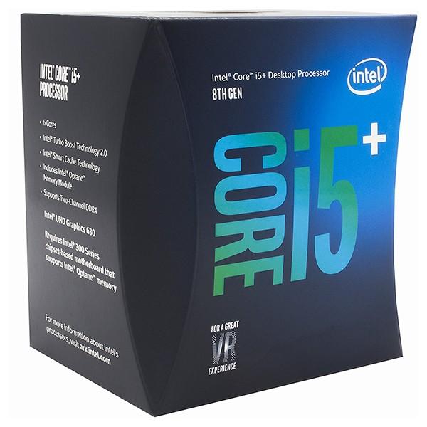 Procesador intel core i5+8400 2.80ghz 9mb lga1151 + 16gb optane