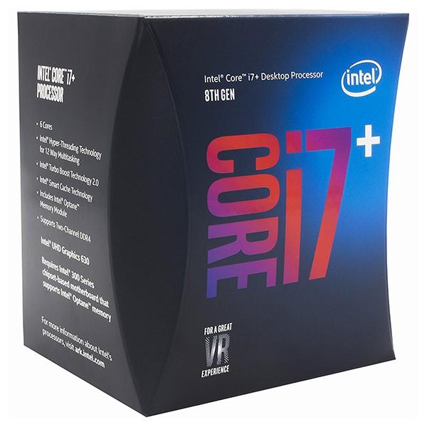 Procesador intel core i7+8700 3.20ghz 12mb lga1151 + 16gb optane