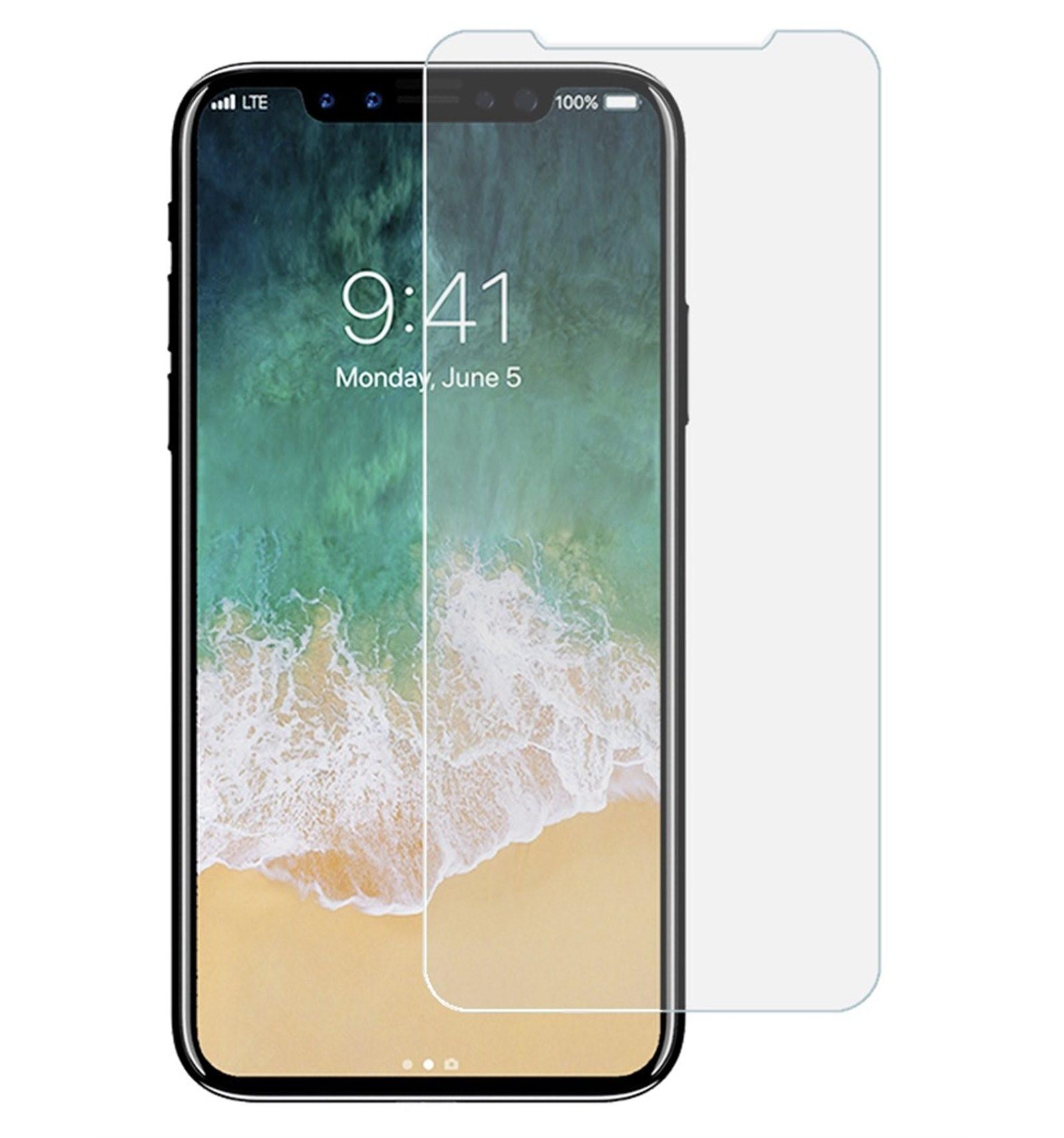 iPhone X Protector Cristal Templado