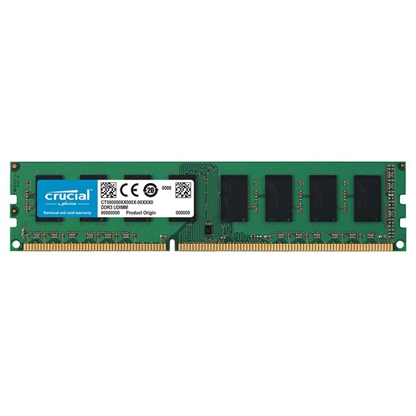 Memoria Crucial CT102464BD160B 8GB DDR3L 1600MHz PC3L-12800