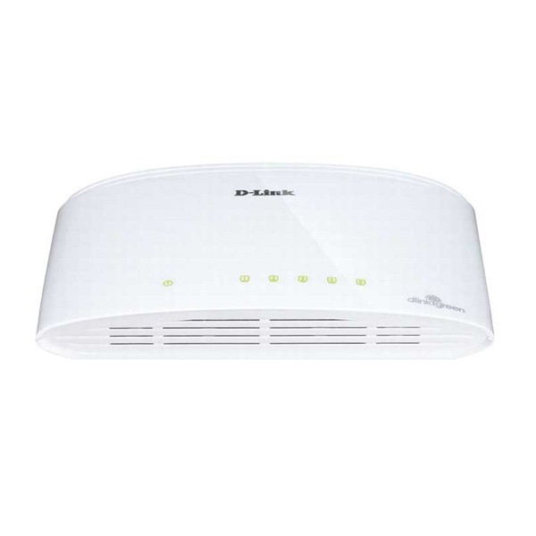 D-Link DGS-1005D Switch 5 Puertos 10/100 - Blanco