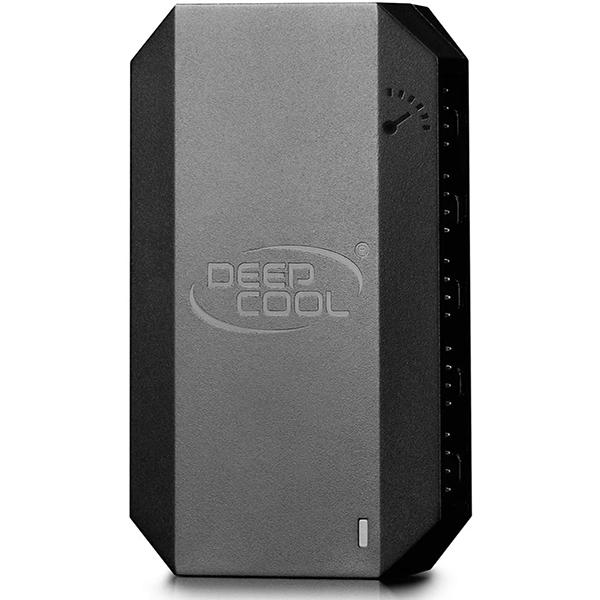 Hub de Ventilación DeepCool FH-10 - 10 Ventiladores