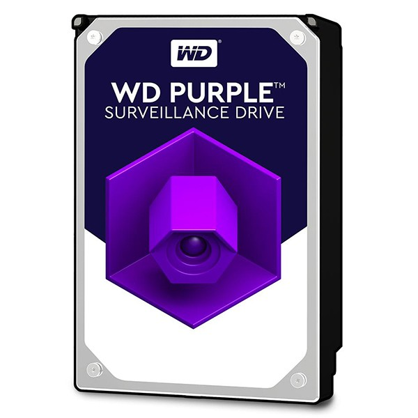 "3.5"" Disco Duro 6TB WD Purple WD60PURZ SATA3 64MB 6Gb/s"