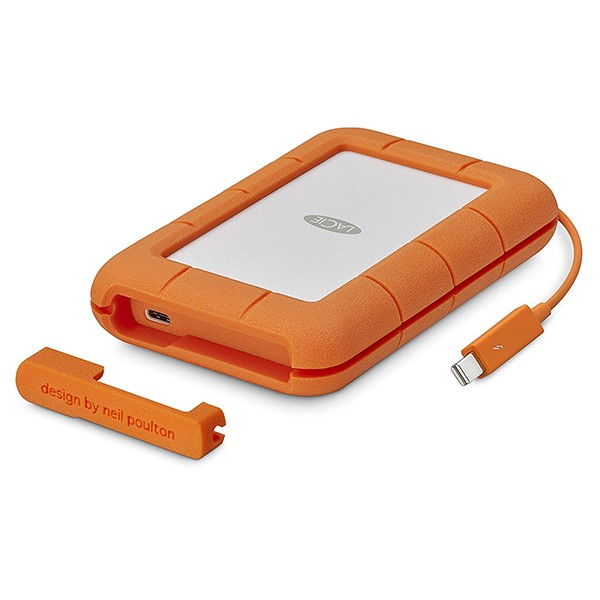 SSD Externo 500GB LaCie Rugged USB 3.1 / Thunderbolt 3