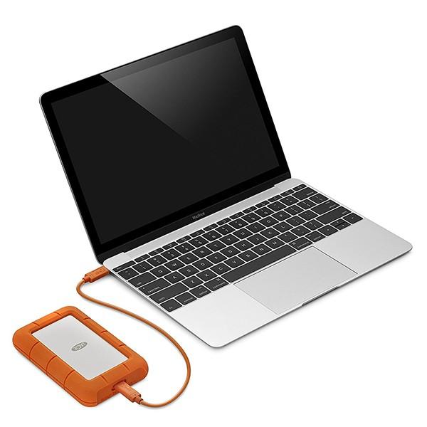 Disco Externo 2TB LaCie Rugged USB-C