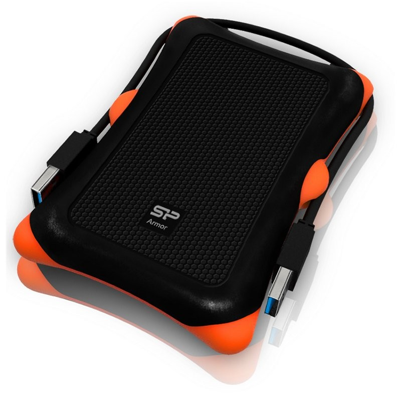 Disco Externo 2TB Silicon Power Armor A30 USB 3.0 Negro