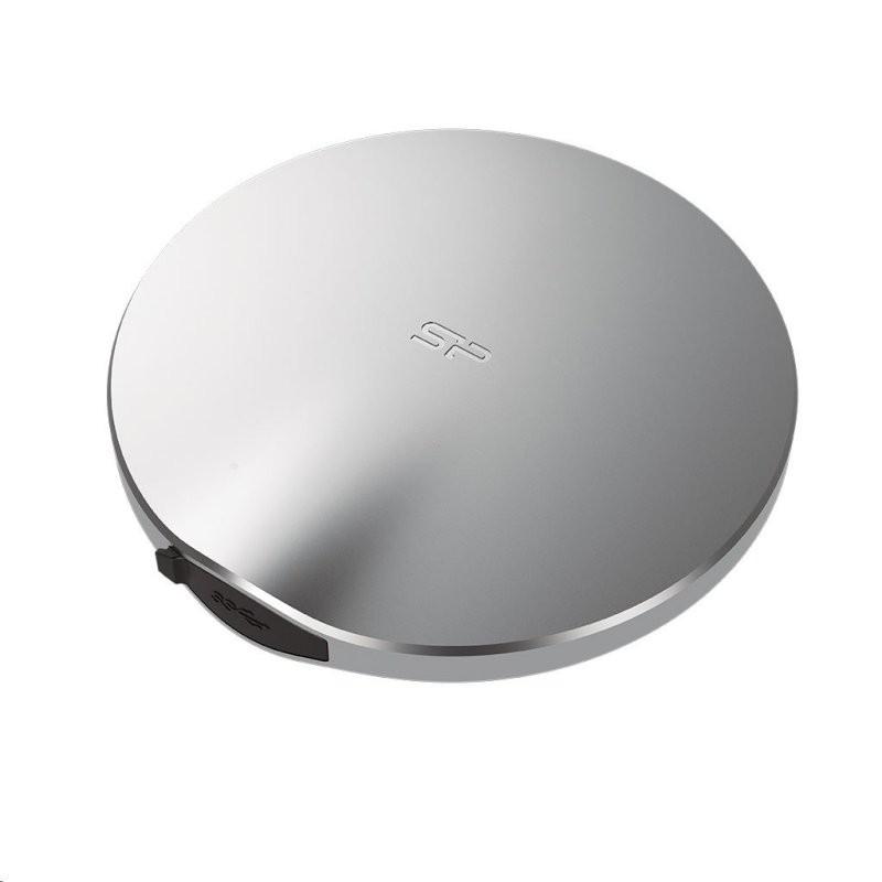 Disco Externo SSD 120GB Silicon Power Bolt B80 USB 3.1 Aluminio