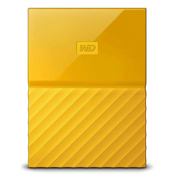 Disco externo 2tb wd my passport worldwide thin amarillo