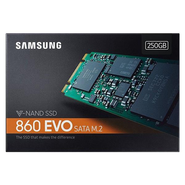 Disco M.2 250GB Samsung SSD 860 EVO V-Nand 3bit MLC