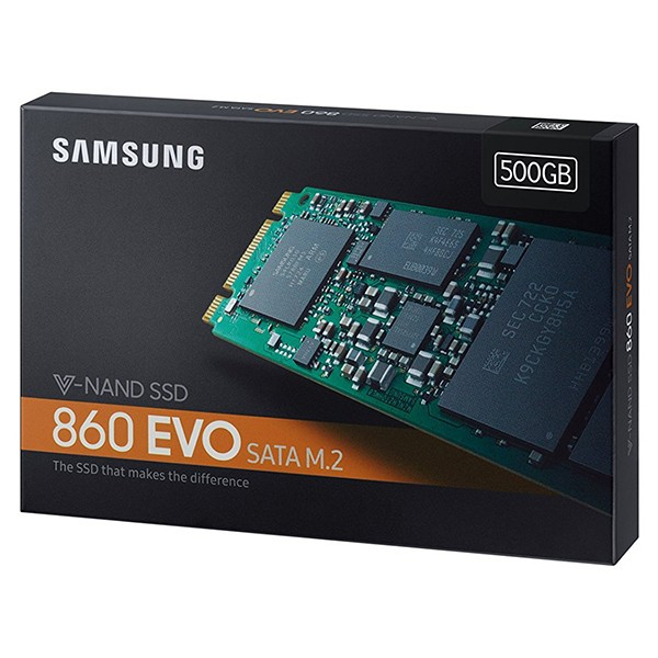 Disco M.2 500GB Samsung SSD 860 EVO V-Nand 3bit MLC