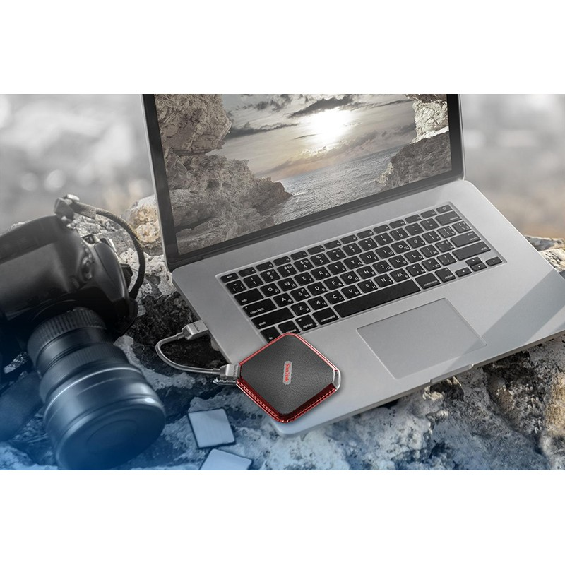 SSD Externo 480GB SanDisk Extreme 510 Resistente al Agua