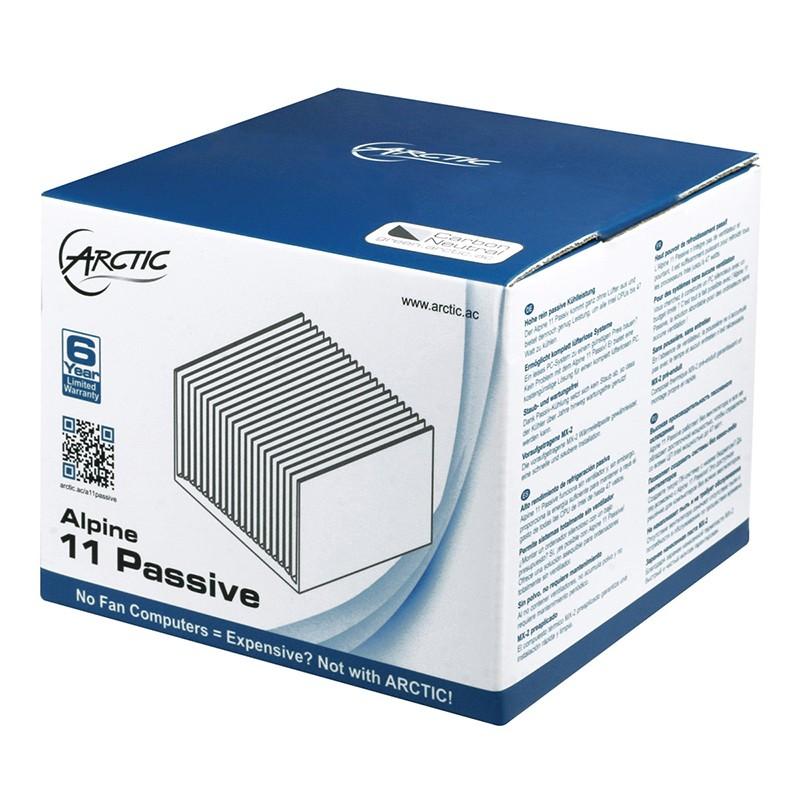 Disipador Pasivo CPU Arctic Alpine 11 Passive 0dB