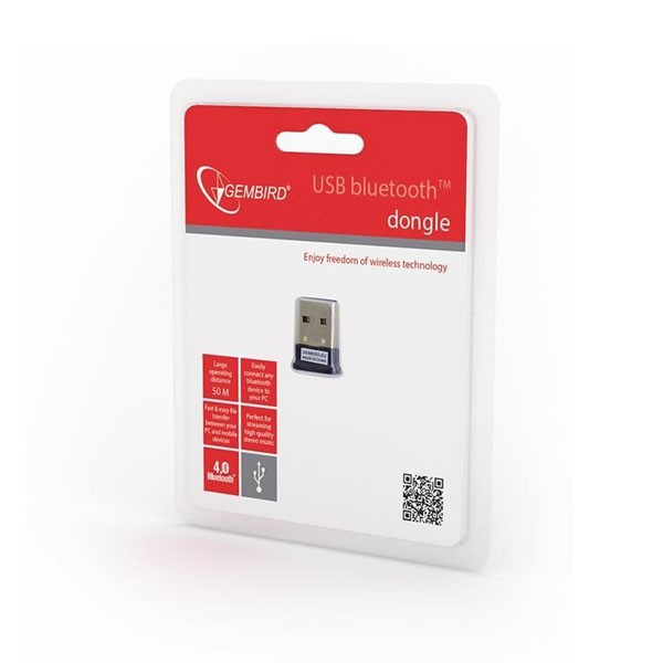 Dongle USB Bluetooth v.4.0 Gembird BTD-MINI5 24Mbit/s