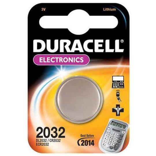 CR2032 3V Pila de Boton de Litio Duracell DL2032