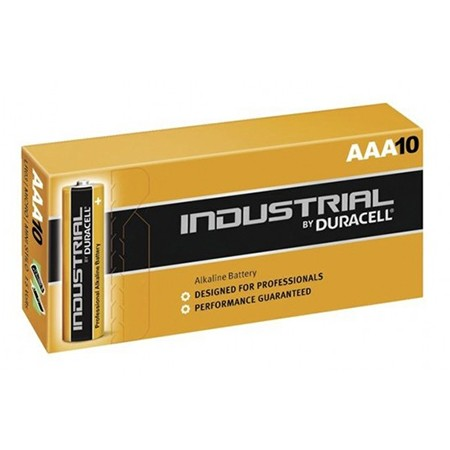 Pila Alcalina AAA 1.5V Duracell Industrial ID2400B10 Pack 10