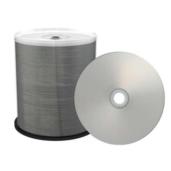 DVD-R 16x Mediarange Prof.Line FF Printable Silver T. 100 uds