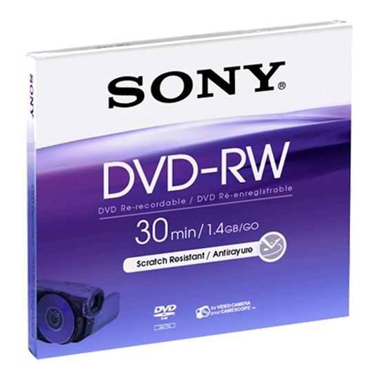 DVD-RW Sony 8cm 30Min/2x Jewelcase Pack 5 Unidades
