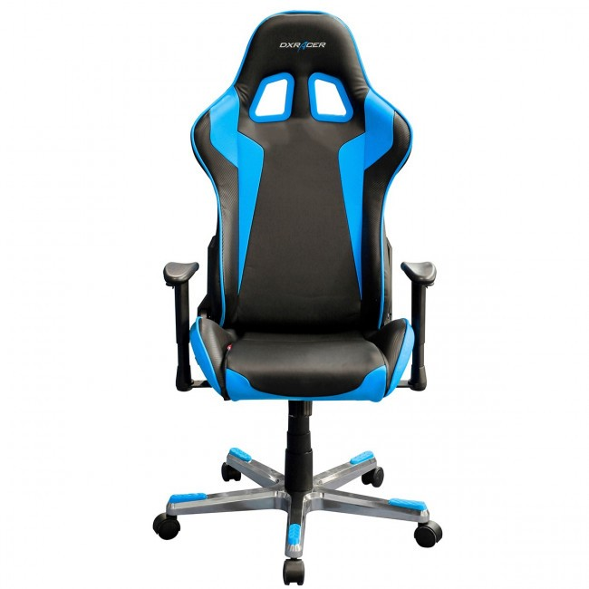 Silla Gaming DXRacer F-Series OH/FE00/NB Negra-Azul