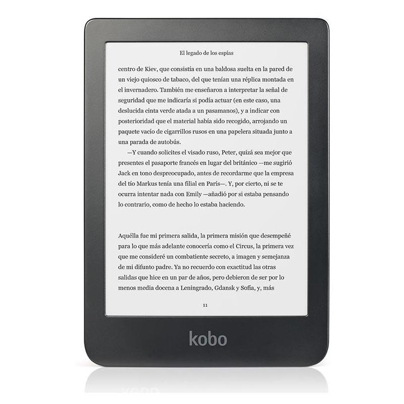 eBook Kobo Clara HD 8GB (Pantalla Tactil e Iluminado)