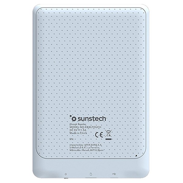 eBook Sunstech EBI8LTOUCH 6\