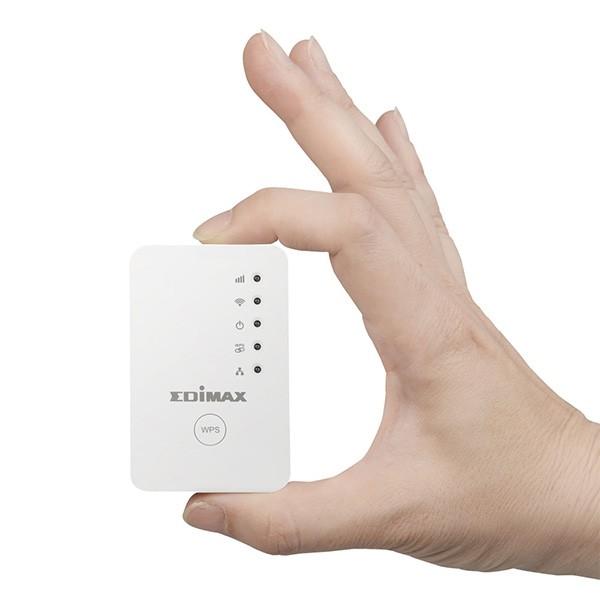 Punto de Acceso WiFi Edimax EW-7438RPN Mini 3en1 N300