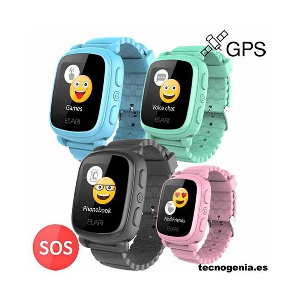 SmartWatch para niños ELARI KidPhone 2 Negro
