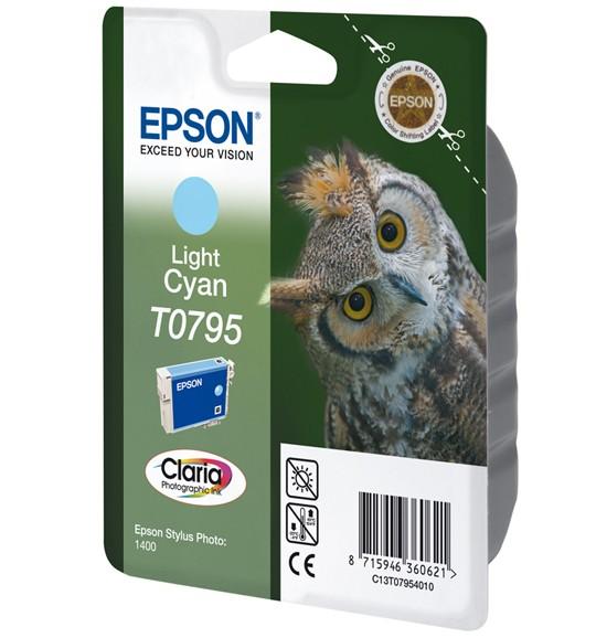 Epson T0795 Cartucho de Tinta Original Cian claro