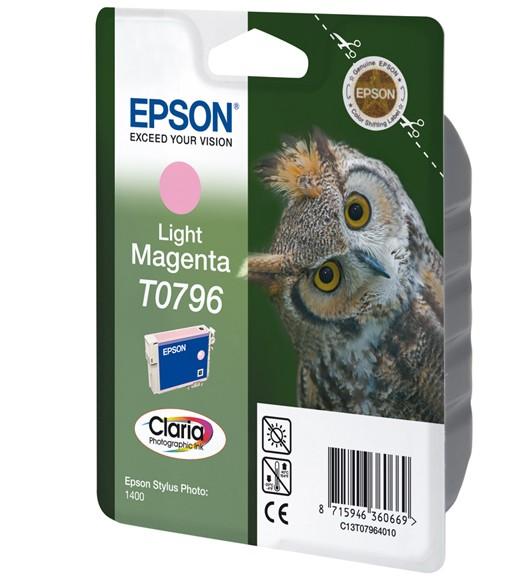 Epson T0796 Cartucho de Tinta Original Magenta claro